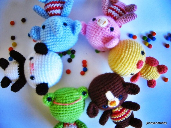pdf little friends amigurumi crochet pattern-luulla