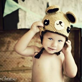 pdf bear crochet hat pattern-luulla